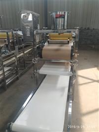 鹏亮供应商用不锈钢米皮机 商用擀面皮机 数控式菠菜汁凉皮机