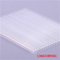 厂家直销20mm阳光板10毫米中空阳光板 10mm阳光板价格