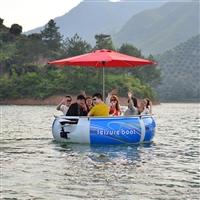 紫外线保护伞 泰松烧烤船 水上烧烤船 烧烤船价格 烧烤船厂家