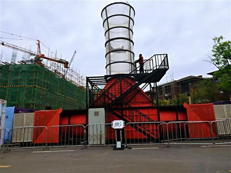 轰动全城的大型活动设备 飞行风洞设备出租出售