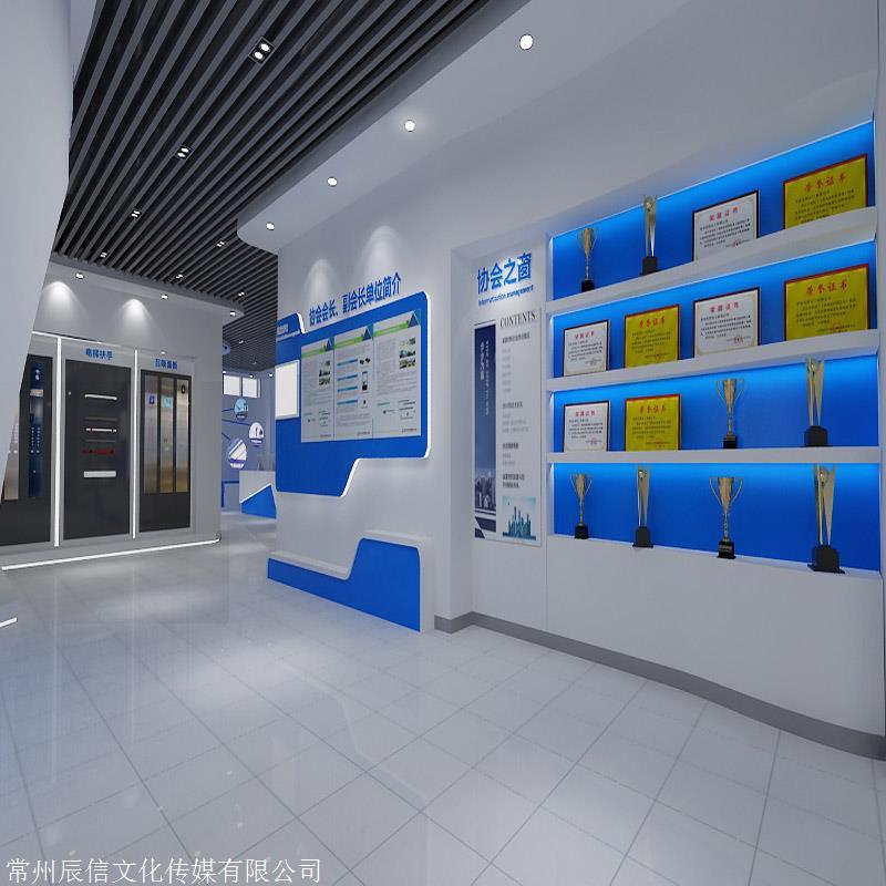 供应展厅装修 展厅设计装修 校园文化墙