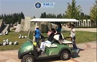 农业园电动高尔夫球车 高尔夫球车厂家 广东鸿畅达 无中间商