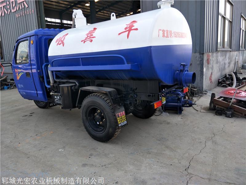 泾县时风三轮3方小区农用吸粪车注意事项