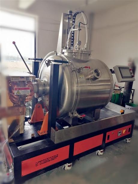 25kg卧式真空感应炉熔炼炉