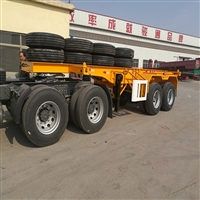 40英尺集裝箱車標準載重量及價格