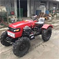 小型四轮拖拉机厂家 单缸两驱四轮拖拉机 多功能果园犁地除草机