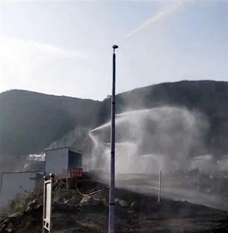 城市道路喷雾降尘设备
