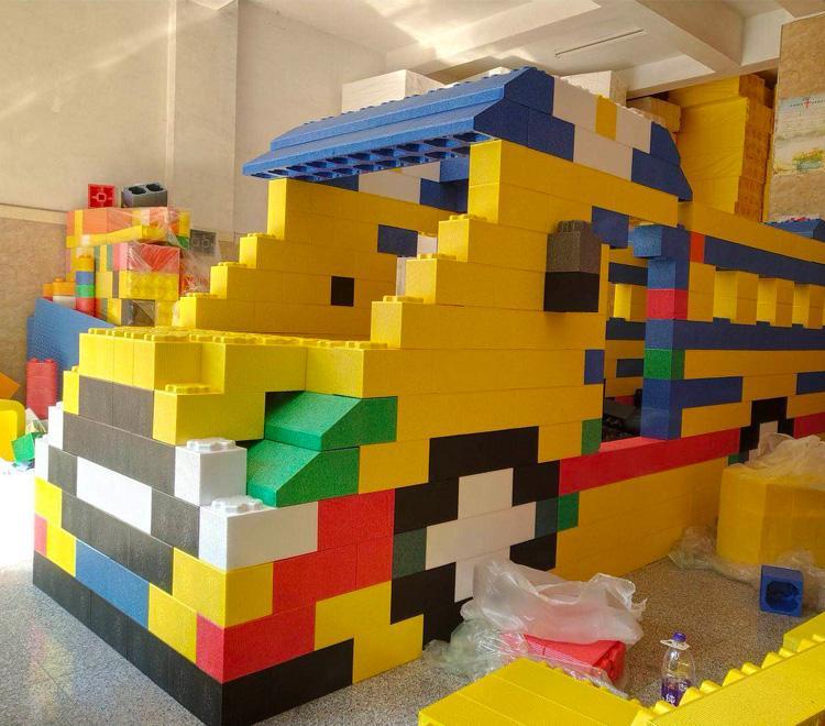 室内儿童乐园 大型百万球池 EPP积木乐园 幼儿园设备安溪厂家
