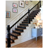 钢木卷板楼梯源头厂家钢木楼梯加工