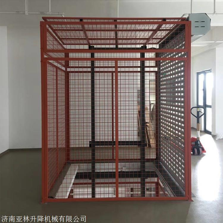 德州5吨物料升降机 10米液压升降货梯价格 5层楼房升降平台定制