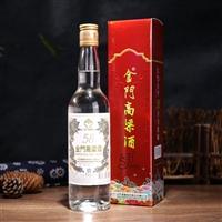 金门高粱酒白金龙58度 500ml送礼盒装 中国台湾白酒 代理批发