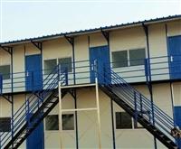 酒泉钢结构活动宿舍施工设计
