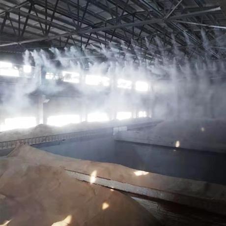 碎石场喷雾除尘系统