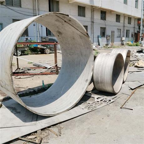 不锈钢大圆筒卷焊厚壁薄壁均可