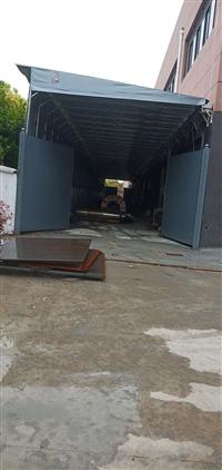 博聪厂家供应常州推拉雨棚 物流大棚活动蓬 移动大棚遮阳篷