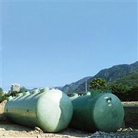 采购地埋式农村生活污水处理设备 无动力一体化生活污水处理设备