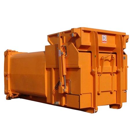 分体式水平垃圾压缩设备