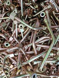 厂家直销液压钢管总成 镀锌油管 无缝钢管总成 铁油管总成 油管