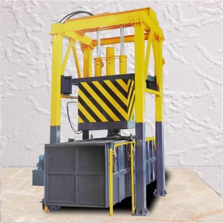 垂直式垃圾站设备 垂直垃圾转运站 社区垃圾中转站设备