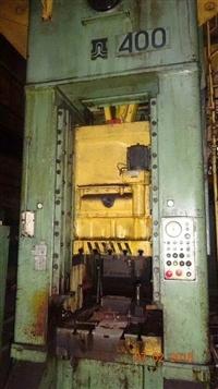 二手压力机 俄罗斯TMP400吨闭式单点压力机