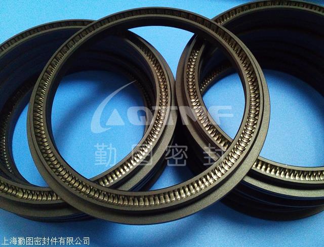 耐磨弹簧密封圈 轴用弹簧蓄能密封圈 平衡密封圈
