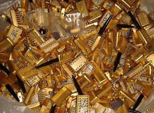 黄铜镀金回收 采购镀金废料回收