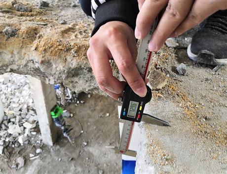 清远市砌体结构进行房屋安全鉴定检测