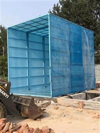 溫州煤場碼頭電廠封閉式洗車棚 自動沖洗車輪泥巴裝置