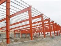 酒泉装配式岩棉钢结构厂房施工