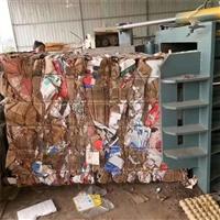 減容增重廢紙液壓打包機 無門式松散物料液壓打包機