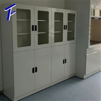 供应萍乡污水处理厂 检测实验室PP试剂柜 全钢药品柜 中孚