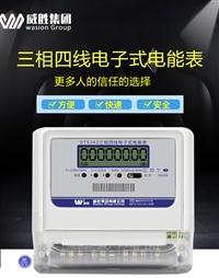 威胜电表DTS(X)343三相四线电表有无功组合电表