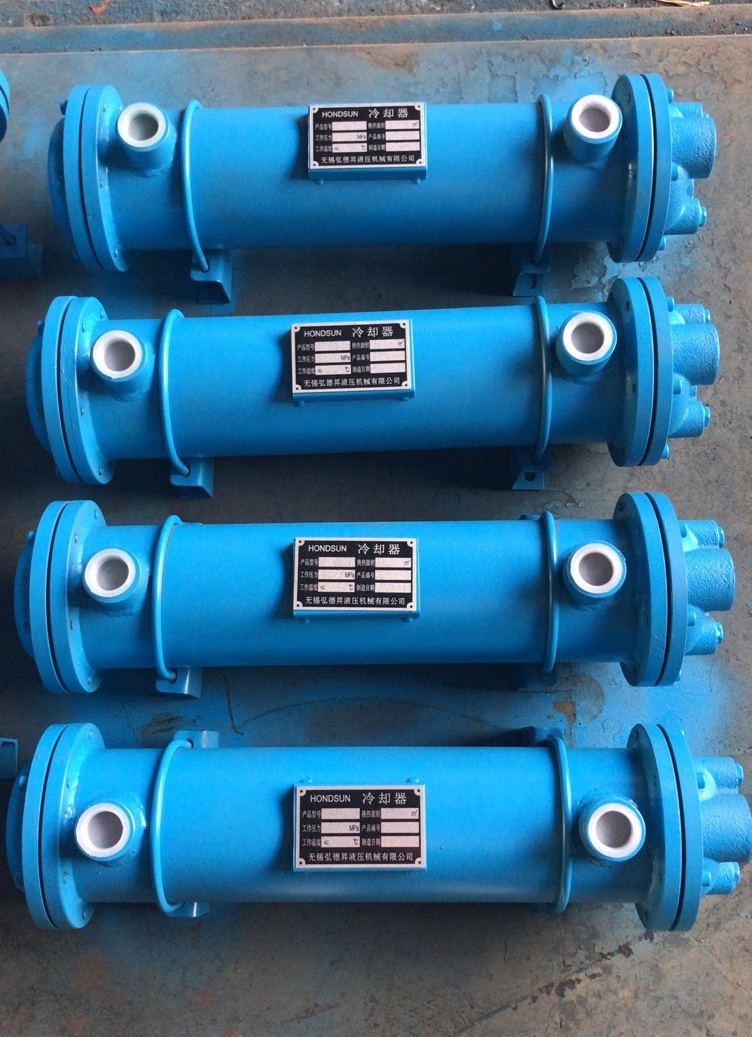 2CFE-18列管式油冷却器 稀油站冷却器