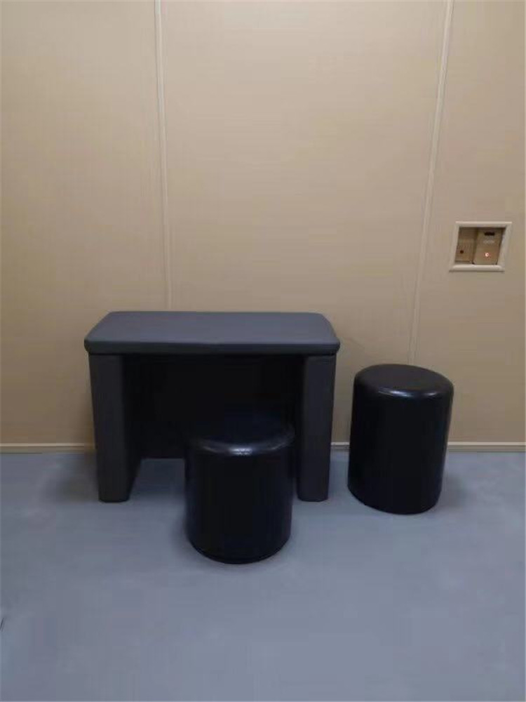 审讯室软包桌椅