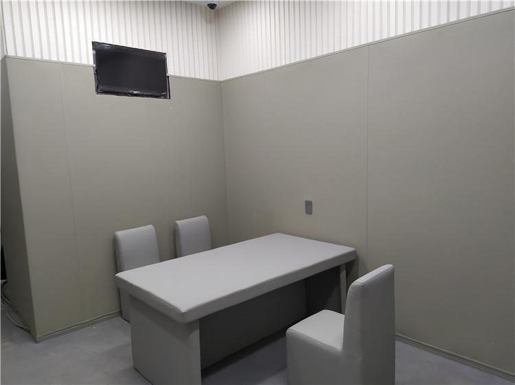 纪委谈话室墙面防撞软包
