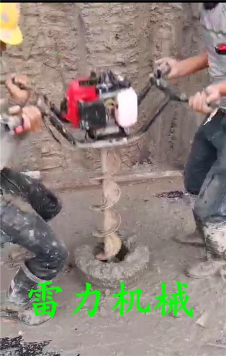 管桩掏泥机清理干净大小桩