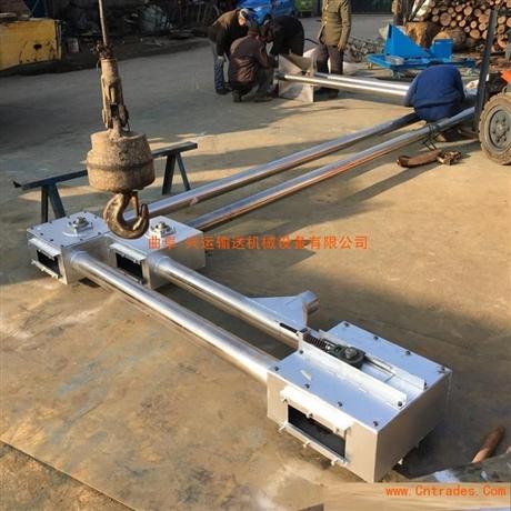 粉末用不锈钢管链输送机型号LjY5