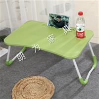 电脑折叠桌批发宿舍懒人神器  临沂朗为直供床上折叠桌