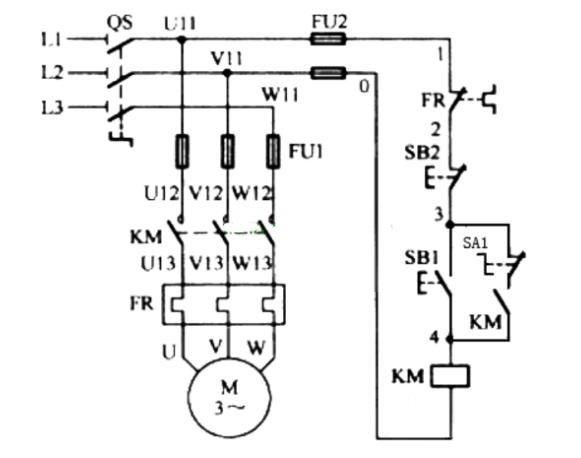 防爆电控箱内部接线图