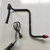 无缝钢管折弯 镀锌镀彩铁油管 环保汽车液压管路加工订做
