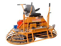一米混凝土座驾磨光机 24马力双盘收光机 修建道路抹平机