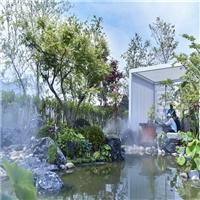 日式造景黑山石、北京黑山石1到5吨