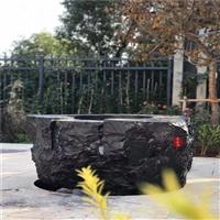 江西黑山石景观设计 吉安黑山石1到5吨