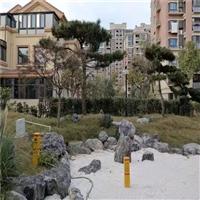 广东日式造景黑山石_江苏庭院景观石