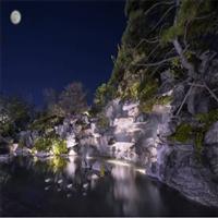 成都黑山石景观设计_北京黑山石价格