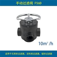 潤新手動過濾閥 F56D 流量10T/H