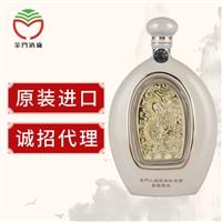 金门高粱酒九龙震龙礼盒 58度1000毫升礼盒装 代理批发