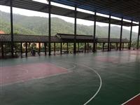 河池巴馬400米標準塑膠跑道施工價格,籃球場地坪工程報價價格