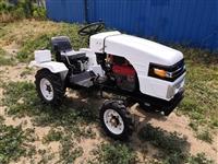 单杠小型四轮拖拉机 厂家供应农用拖拉机 果园低矮柴油拖拉机