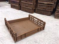 成都面包箱 成都塑料食品箱   成都全新料食品周转箱